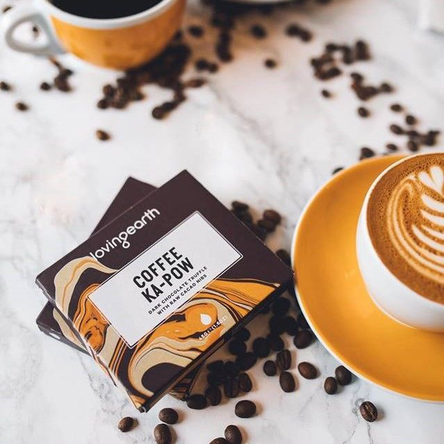 Three words. Healthy. Coffee. Chocolate. ☕🍫 @loving_earth available instore #harbordgrowers