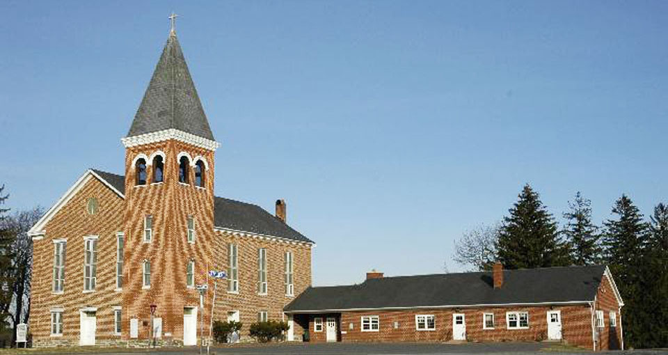 New Jerusalem Lutheran Church. Lovettsville, Virginia.