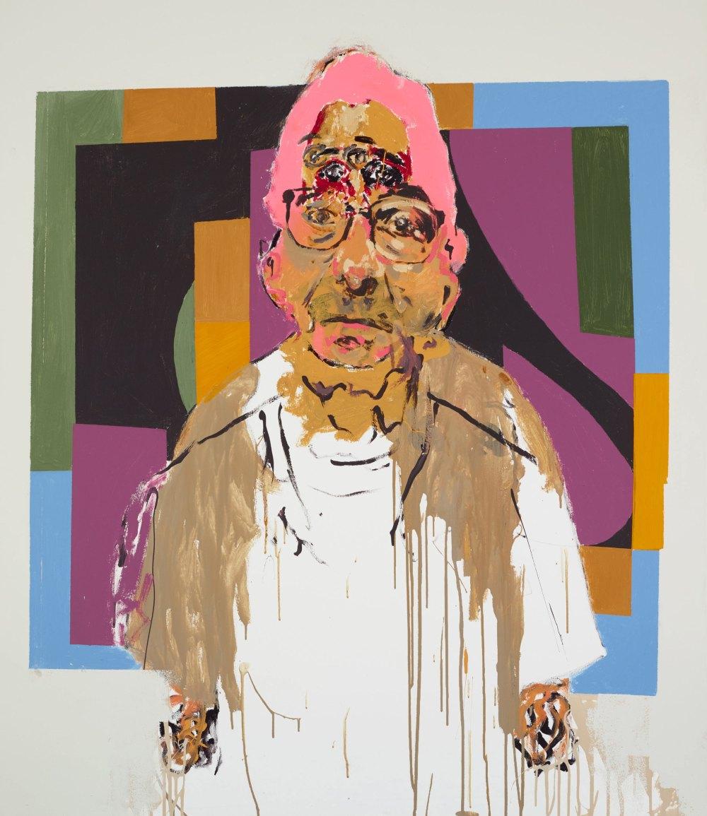 Benjamin Aitken - Portrait of mentor (Jon Cattapan and self)