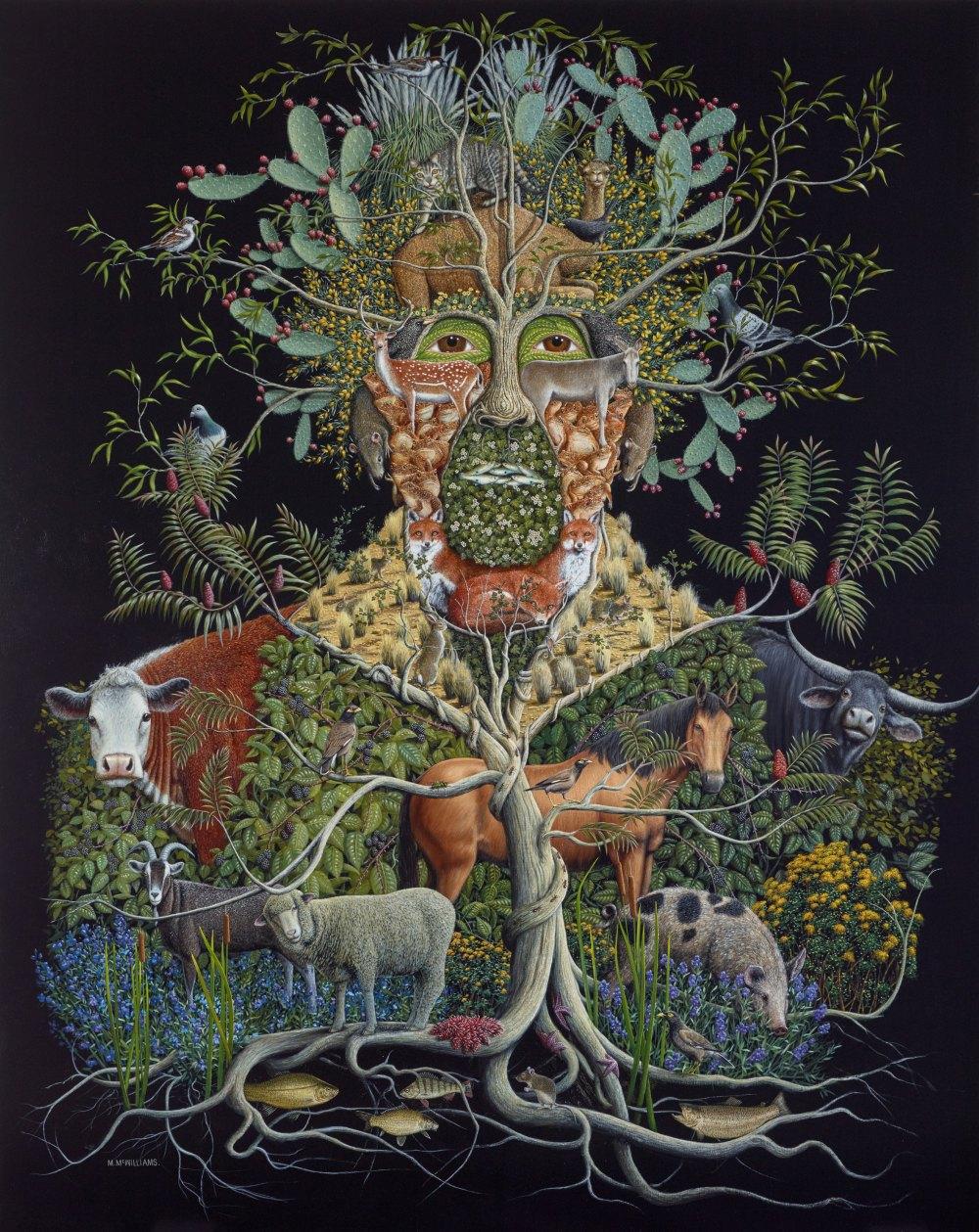 Michael McWilliams - The usurpers (Self-portrait)