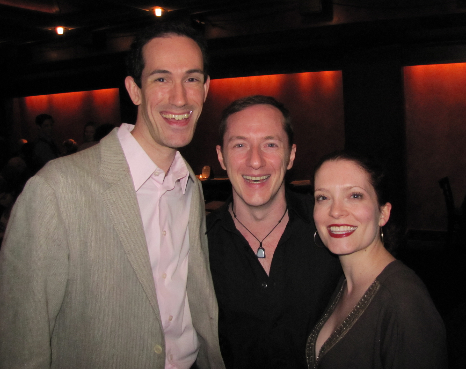 With David Sisco and Leslie Henstock  Songs You've Never Heard and Shows You've Never Heard Of  at the Laurie Beechman 5.10.10