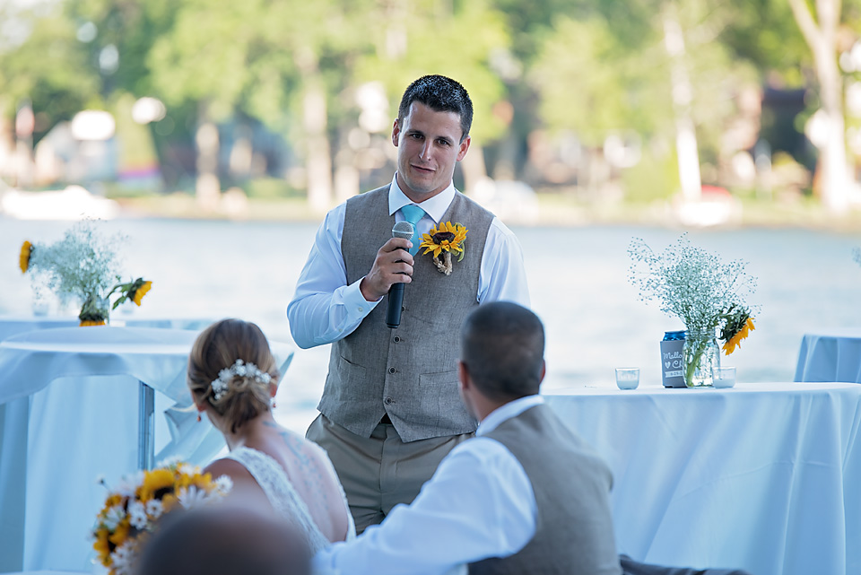 Speech by Best Man & brother of the groom, Chad
