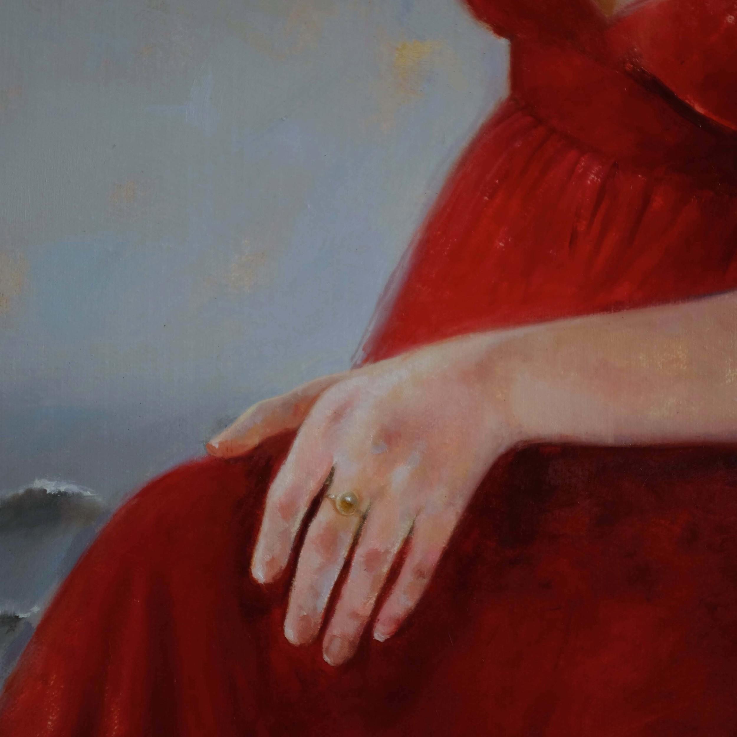 Pearl Ring detail of Neptune's Daughters by Soraya
