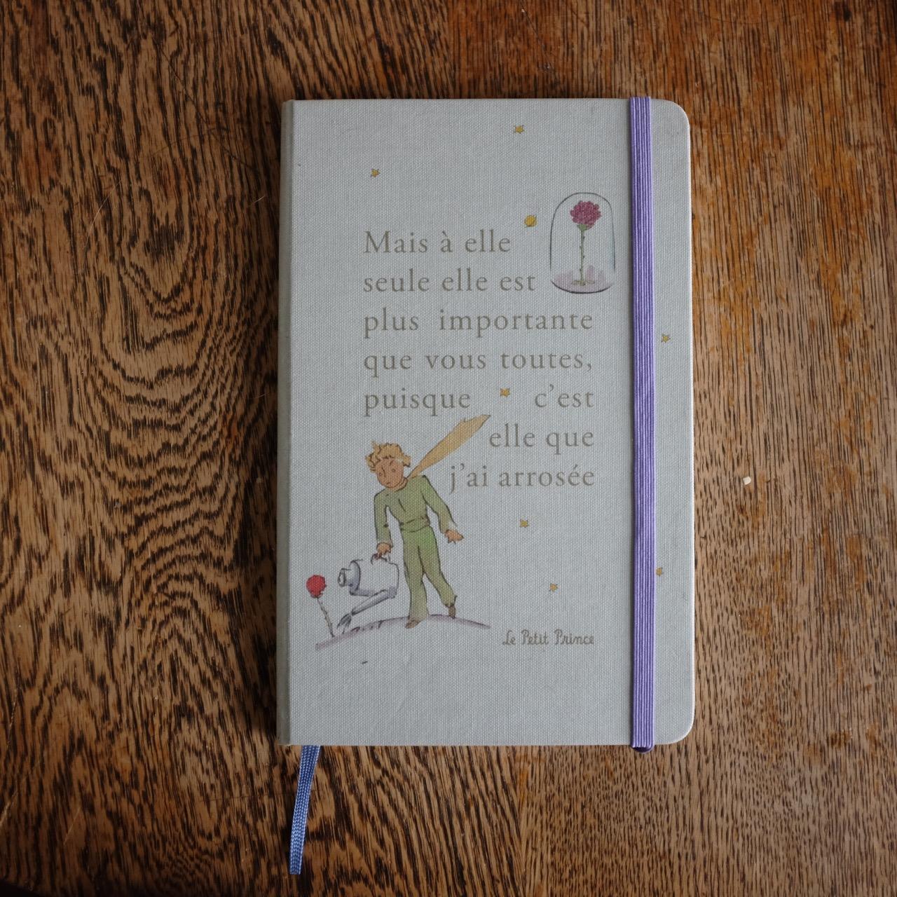 Little Prince Moleskine Diary www.soraya.co.nz .jpg