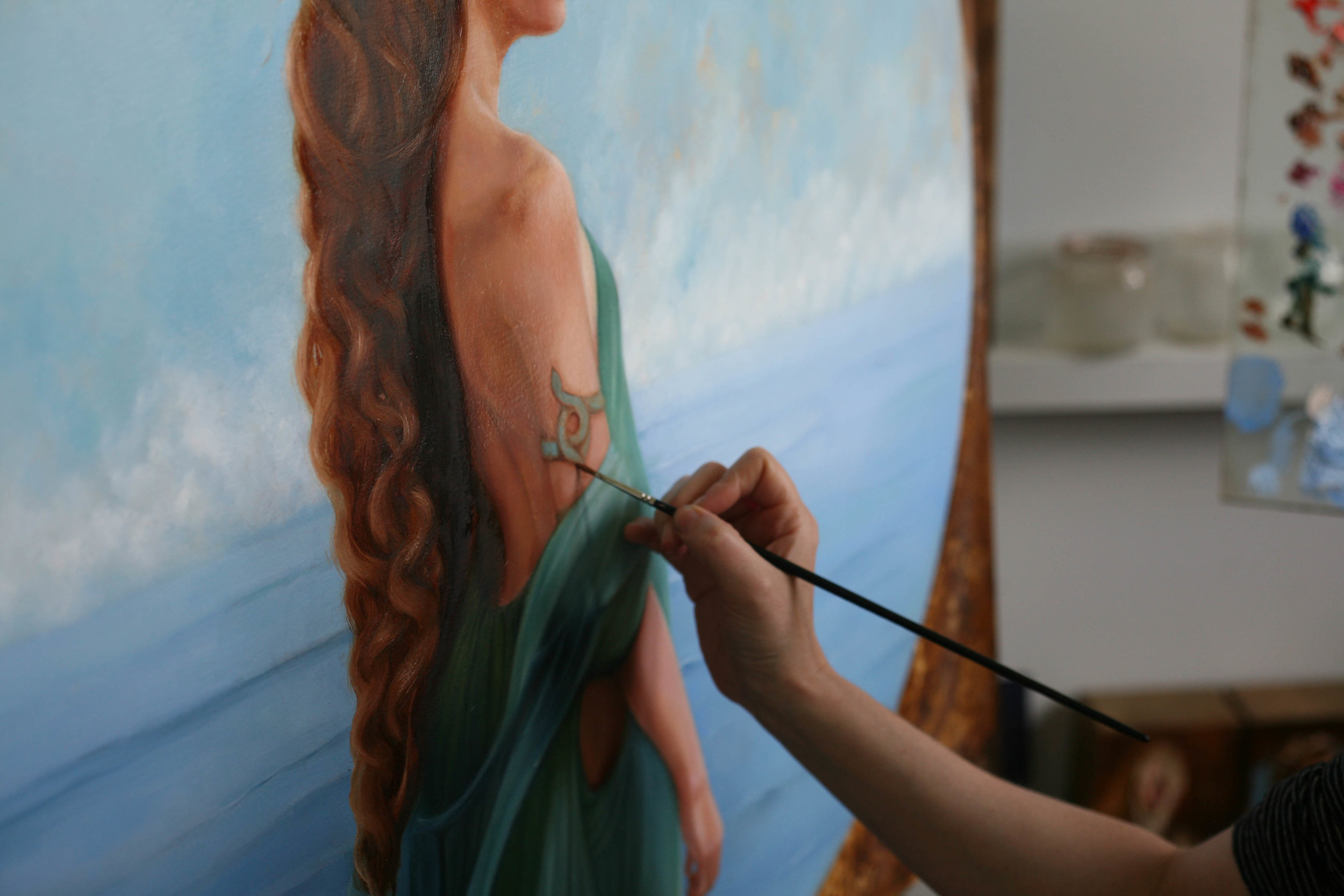Soraya Painting