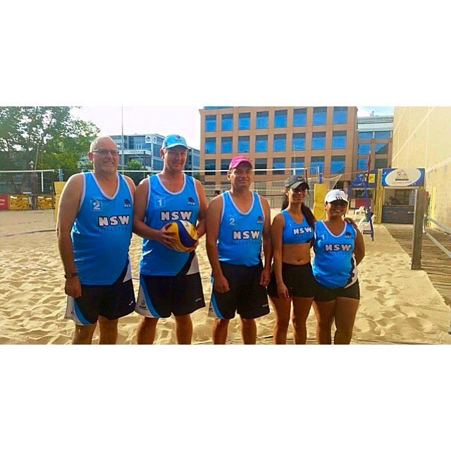 Congrats to Matt L and Matt S who represented N.S.W in Adelaide at the Australian Deaf Games this year. We're very proud of you! #friends #Vball #volleyball #champs #wagga #waggavolleyball #fun