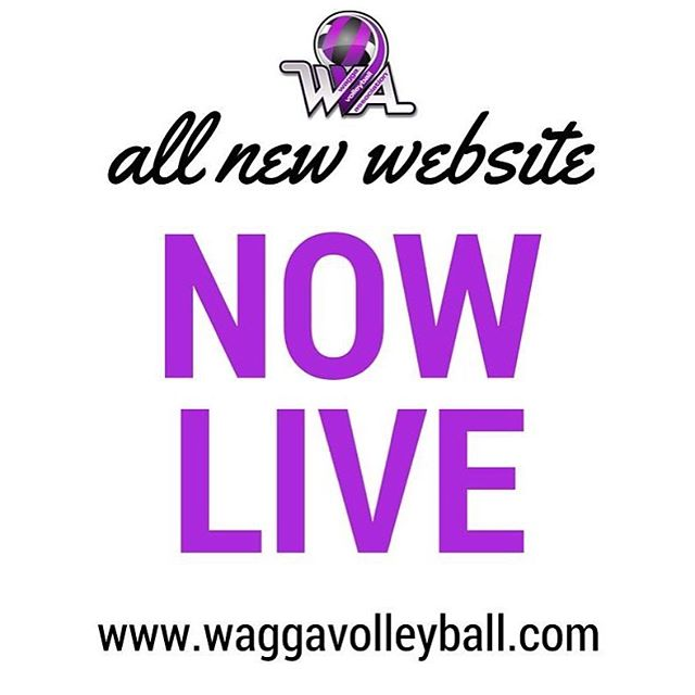 Draw and ladder, check! Events, check! Registrations, triple check! 💜 The new Wagga Volleyball website is now live and we'd love for you to check it out ~ www.waggavolleyball.com #waggavolleyball