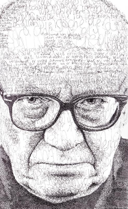 Anatol Knotek, Porträt von Jandl