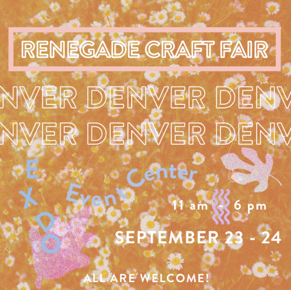 """Join us this weekend- Saturday 9/23 & Sunday 9/24 from 11am-6pm both days- for a shopping event you won't want to miss! There will be some fabulous finds offered up from tons of amazing makers. It's the perfect time to find new fall styles and even get a jump on your holiday gifting! Located at the EXDO Event Center in Denver. Visit our """"events"""" page for more info."""