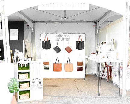 Stitch & Shutter booth at Spring at the Silos 2019