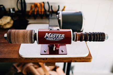 In the Studio with Stitch & Shutter- Edge Sander and Burnisher