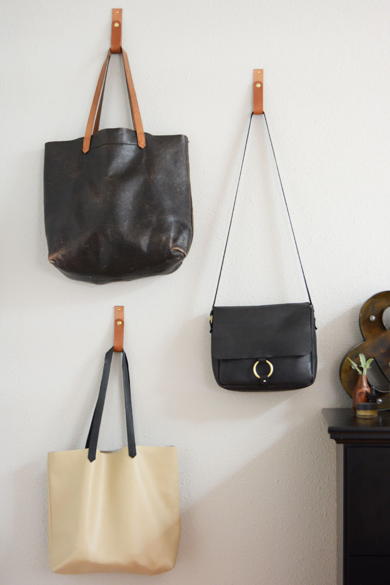 Wall Straps with Bags
