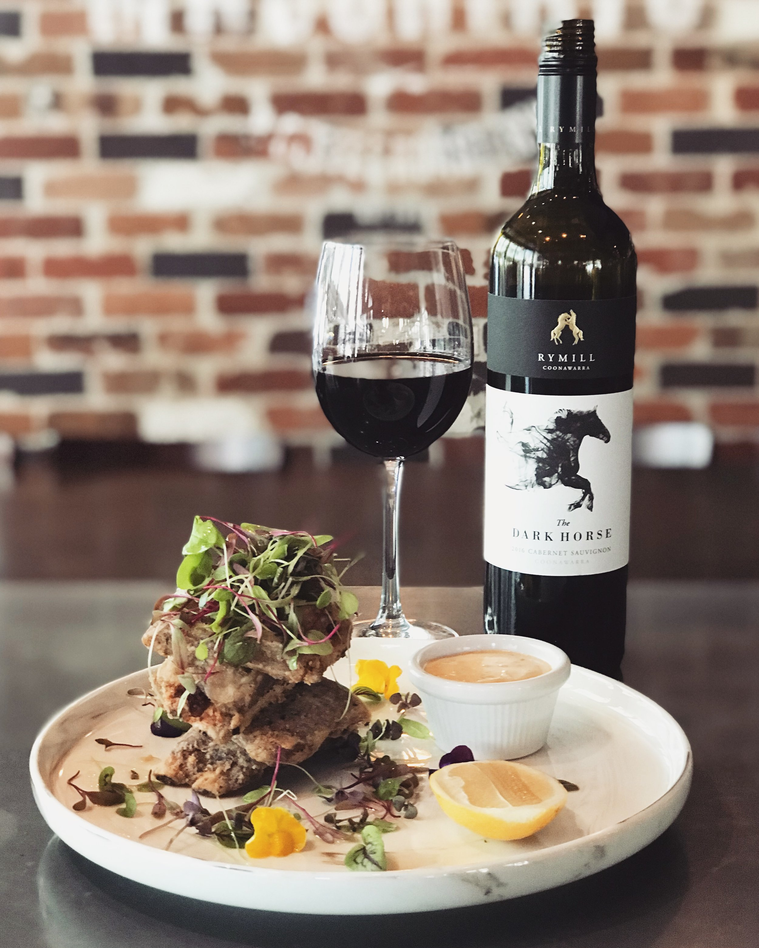 10-16 January - Semolina and Mediterranean spice dusted Junee ribs with a lemon and Parmigiano Reggiano aioli.