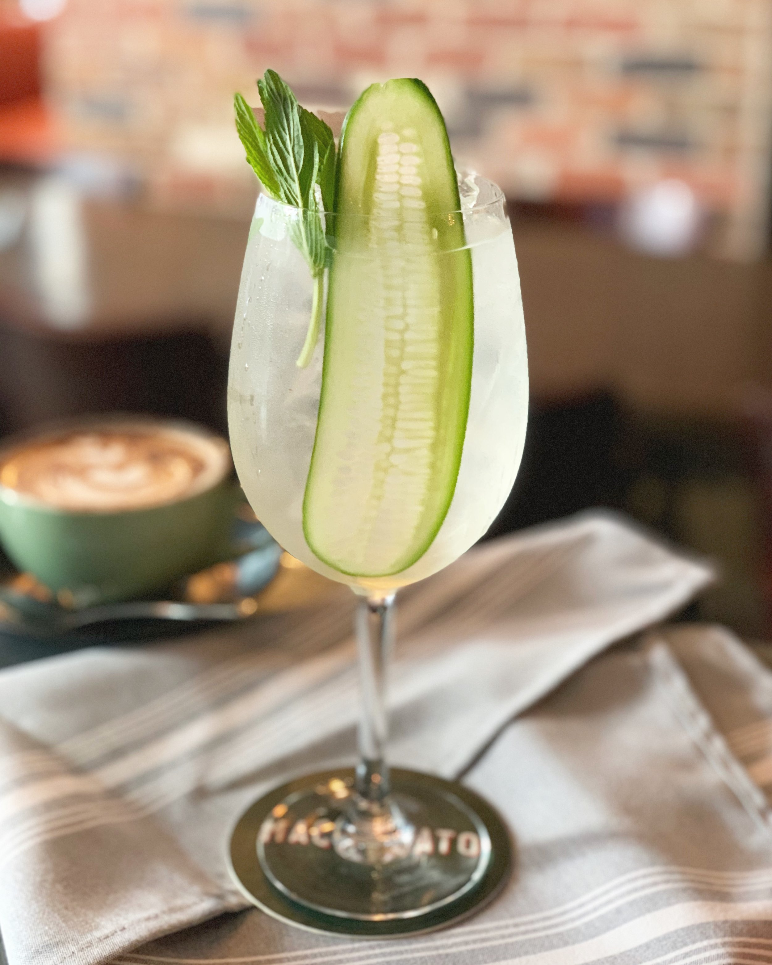12-18 June - 🍸 A sunny Saturday afternoon calls for our Elderflower Cobbler - gin, sparkling wine, cucumber, a splash of lemon juice and elderflower water.~Summer nostalgia, you say? Guilty as charged!