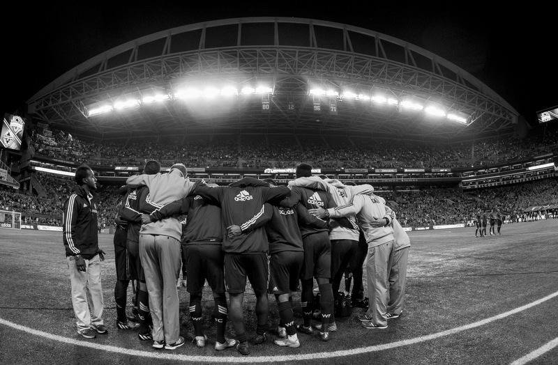 Photo by   Bob Frid of the Vancouver Whitecaps