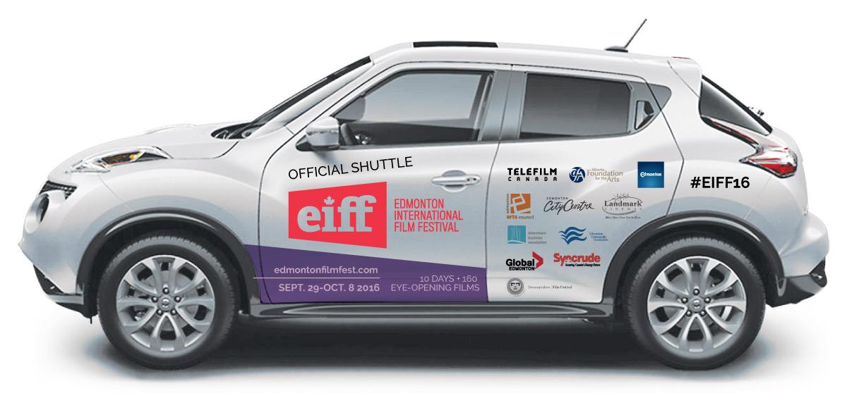 Edmonton International Film Festival - Vehicle Wrap