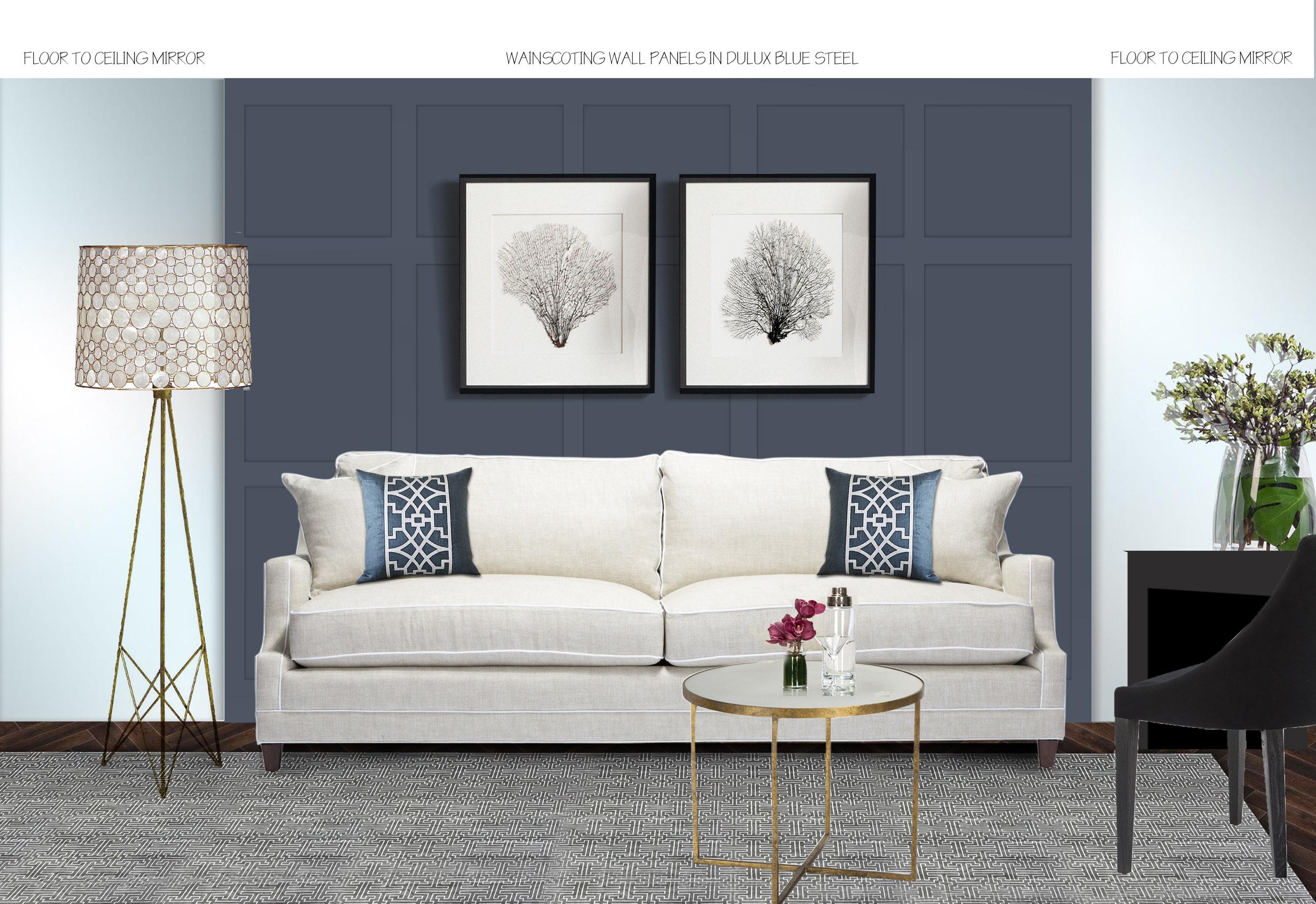 Elizabeth Bay Living Room Concept