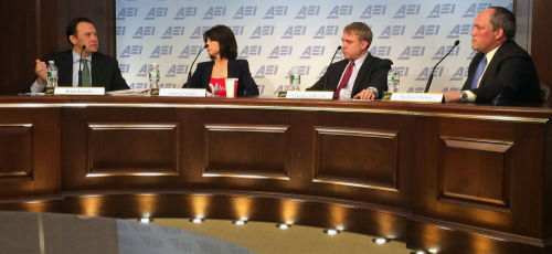 The American Enterprise Institute held a panel discussion Monday on Iraq's Prime Minister Haider al-Abadi's governing practices.    (Photo by Ramsen Shamon)