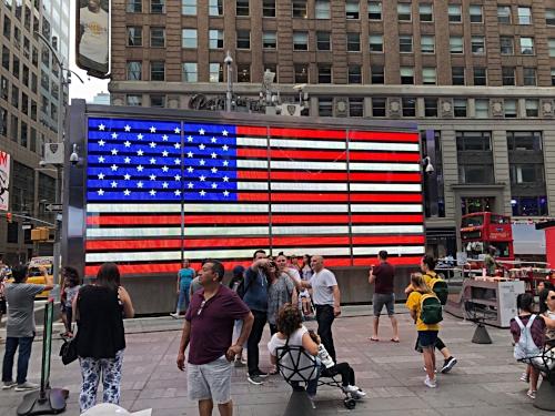 American Flag, Times Square