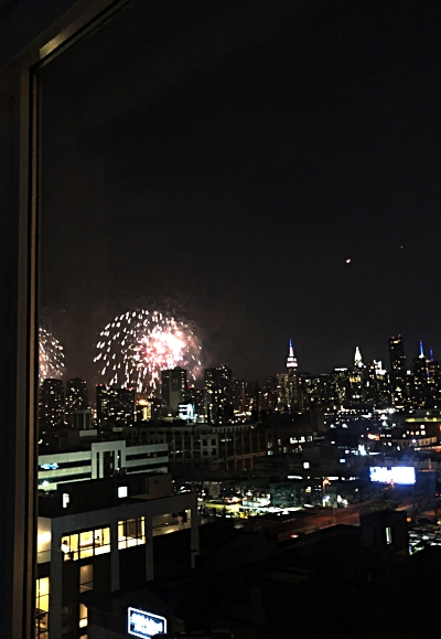Fireworks from LIC (Long Island City)