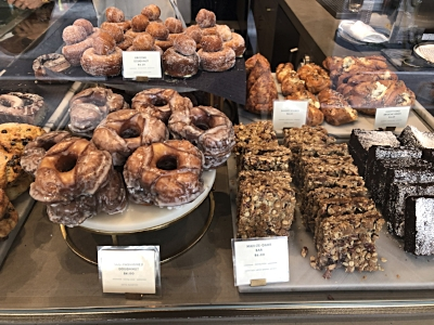 The brioche donut is on the top left.