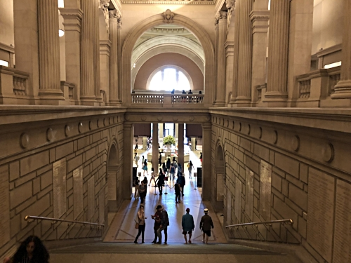 The Met foyer