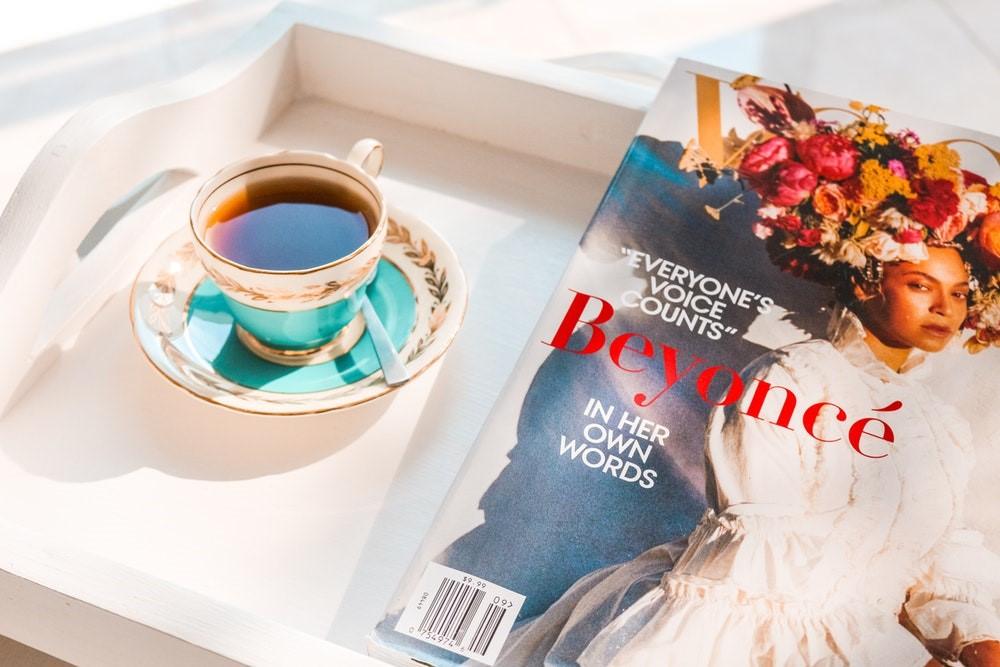 Beyonce on Magazine