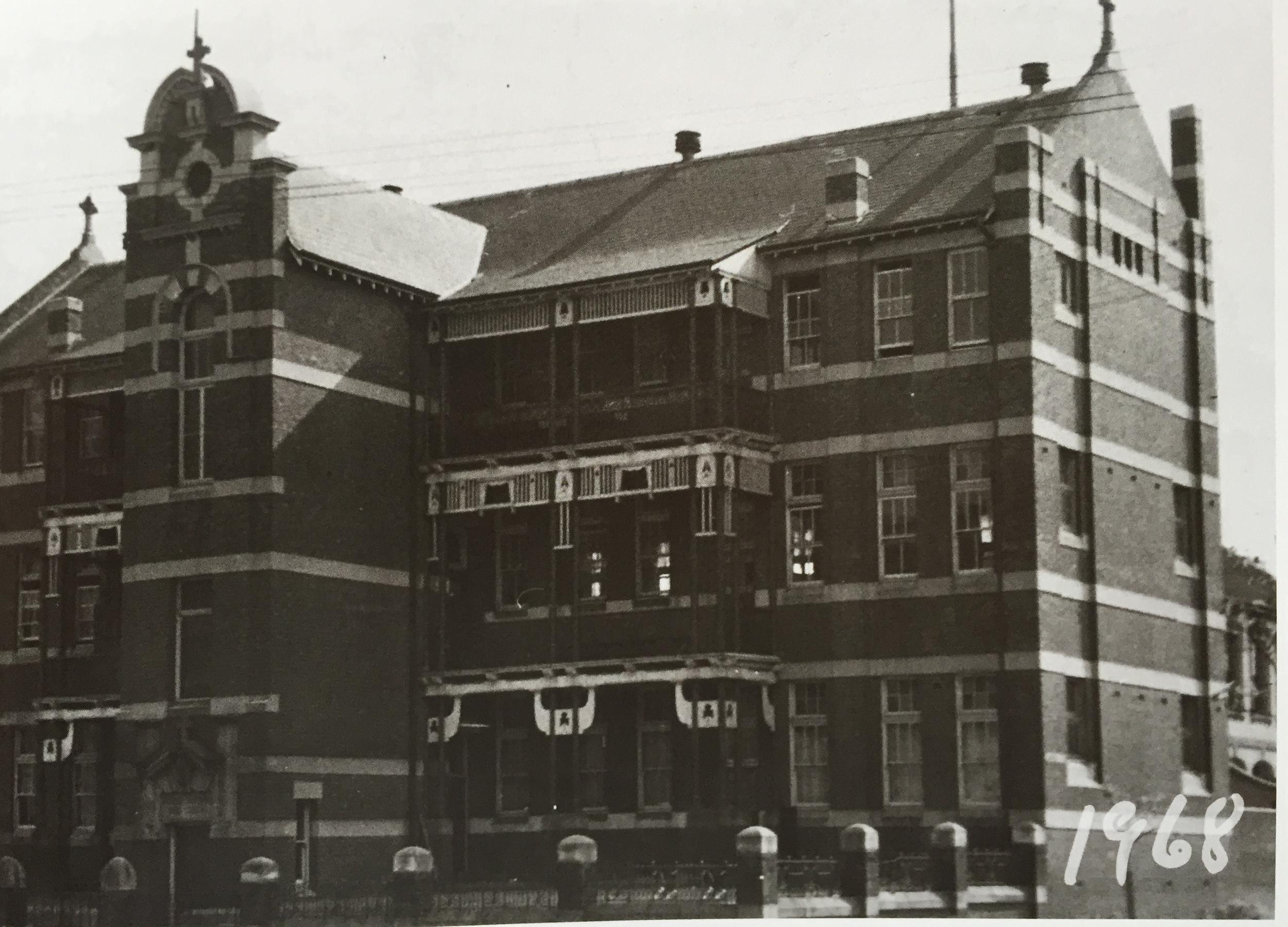 Darlinghurst, the High School, 1968