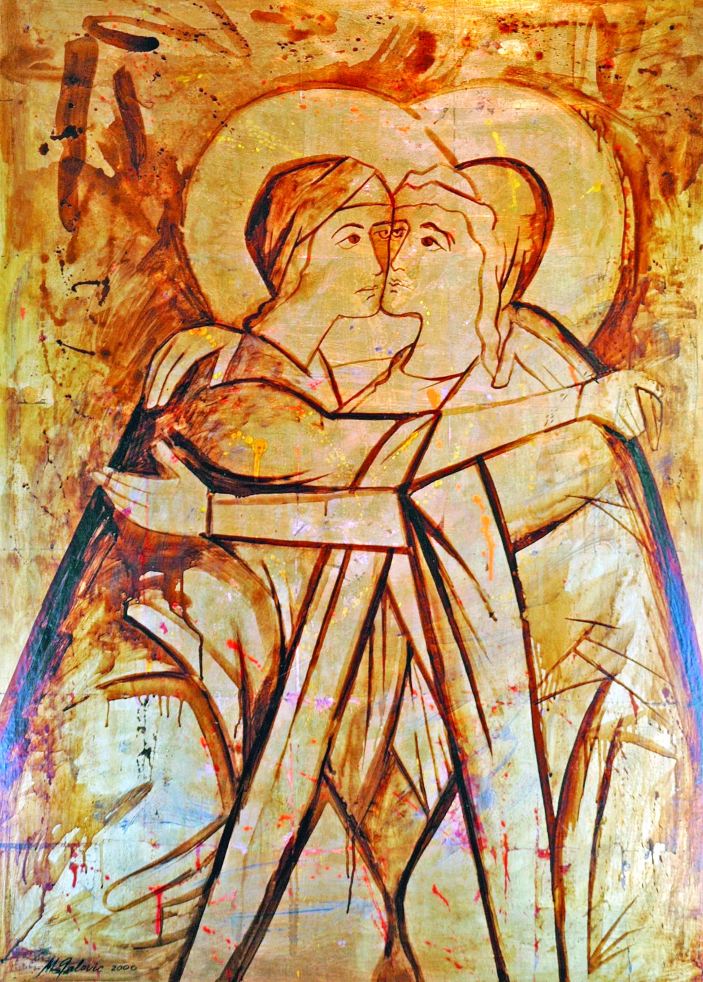 The Visitation Icon, Michael Galovic, The Hermitage, Mittagong