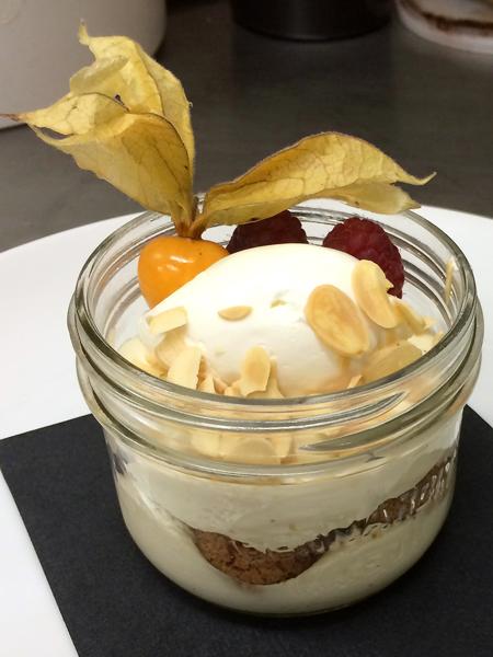 Eggnog Trifle