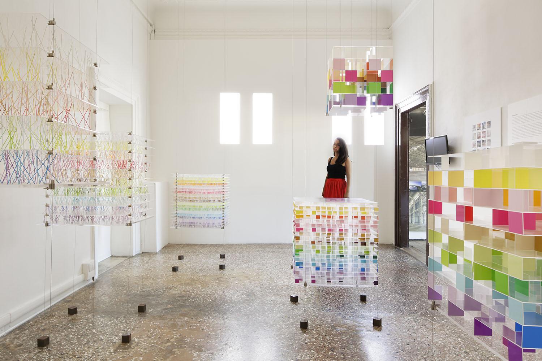 shikiri : see beyond colors / 14th Venice Biennale Architecture Exhibition