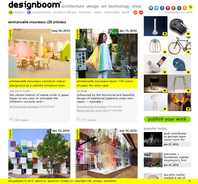 designboom : go to listed articles