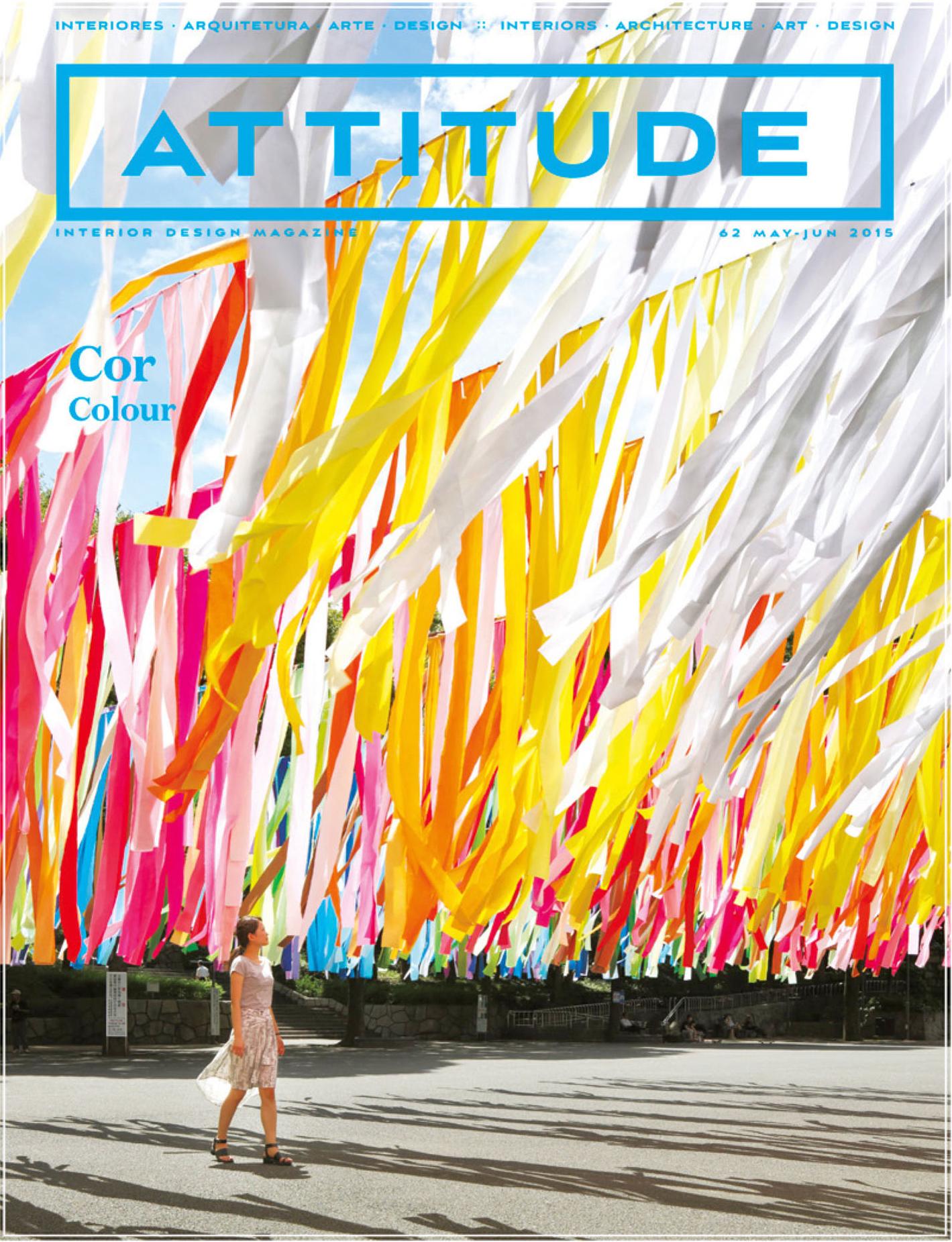 Emmanuelle Moureaux :<br>Colors to be felt<br>ATTITUDE 2015/5-6 (English)