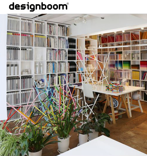 emmanuelle moureaux interview<br>and studio visit in tokyo<br> designboom 2017/3 (English)