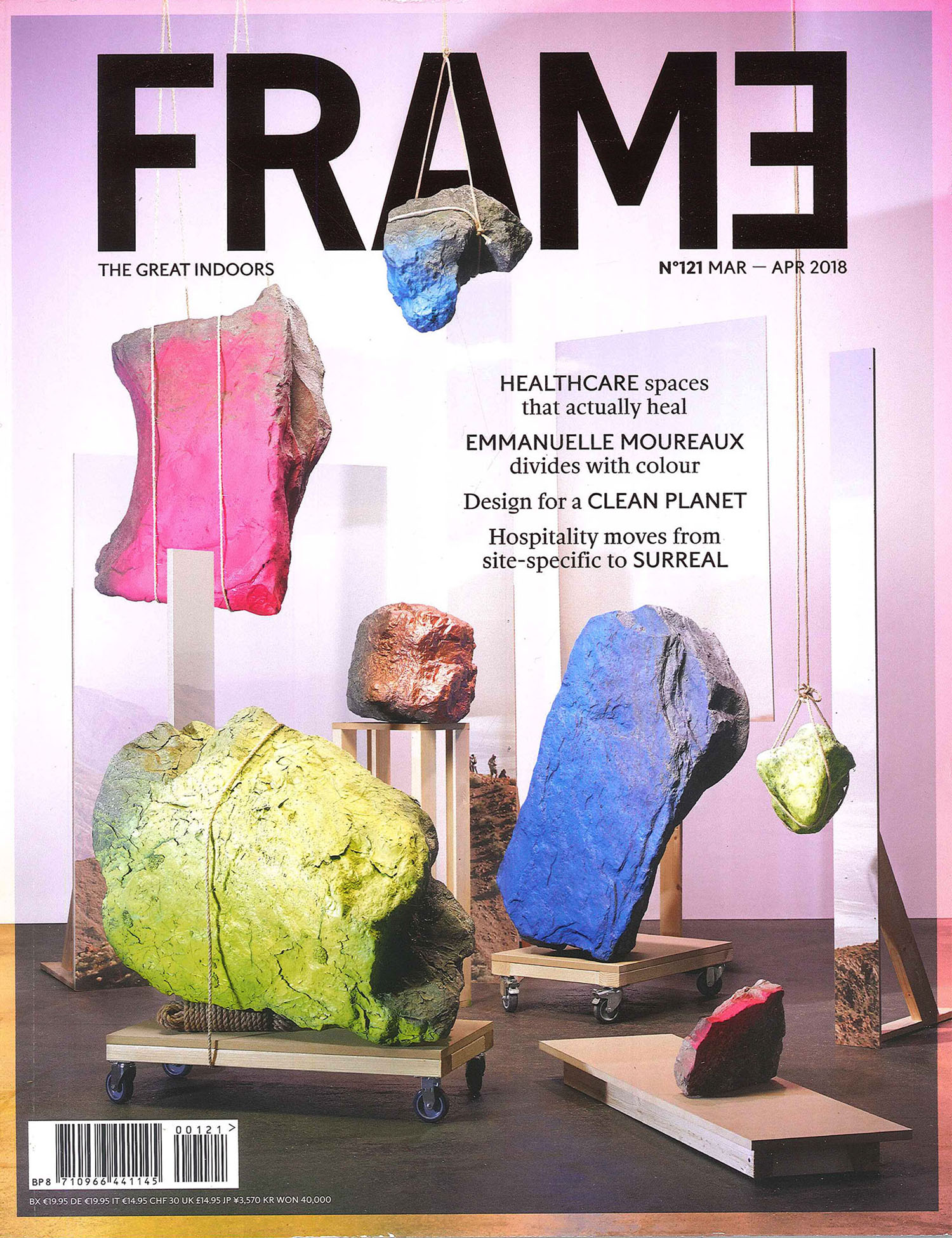 Emmanuelle Moureaux Chroma Queen<br>FRAME Mar-Apr 2018 (English)