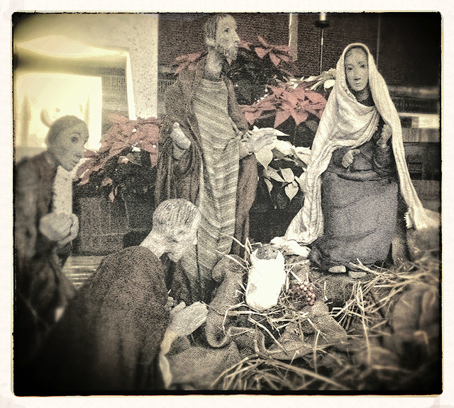 Nativity scene at St. Johns Abbey, Collegeville, MN, by Almut Furchert 2015
