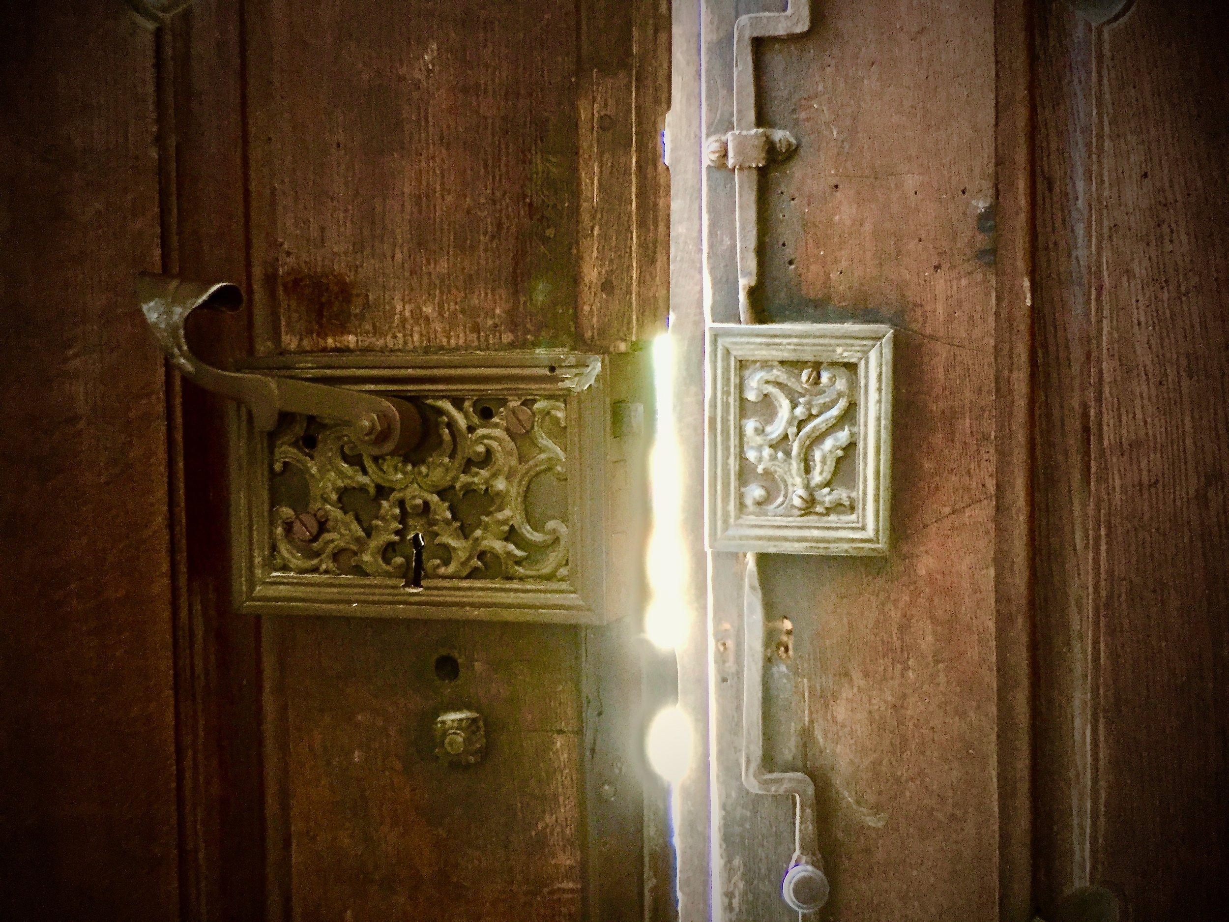 (c) A. Furchert. Door at Schäftlarn Monastery, Germany