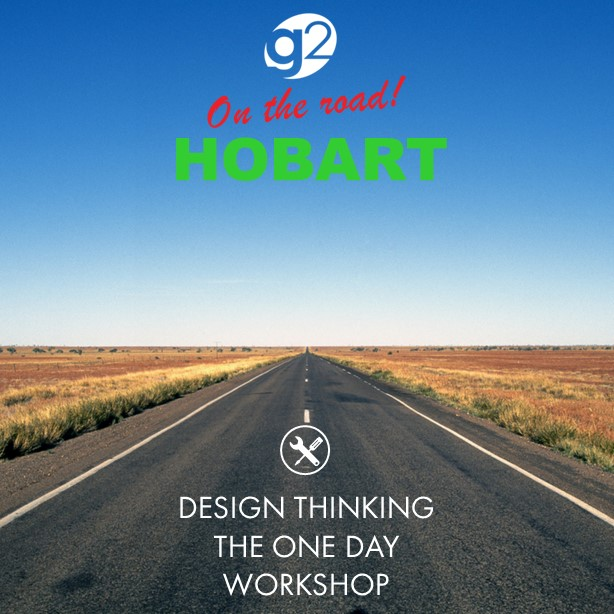 Join us on the road... - Design Thinking Hobart