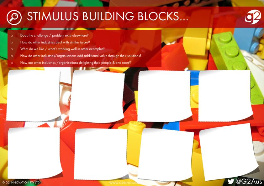 Stimulus Building Blocks