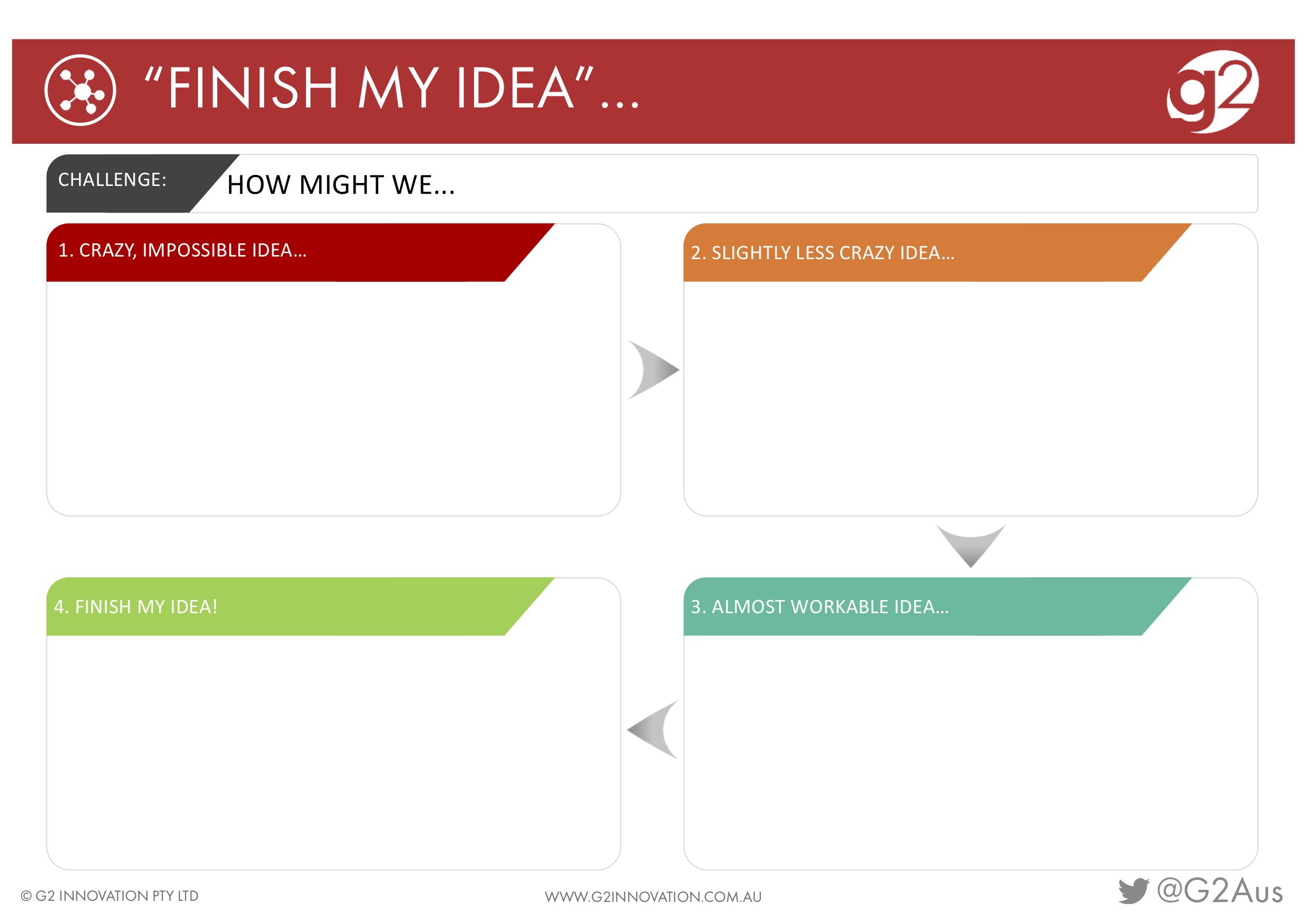 Finish My Idea