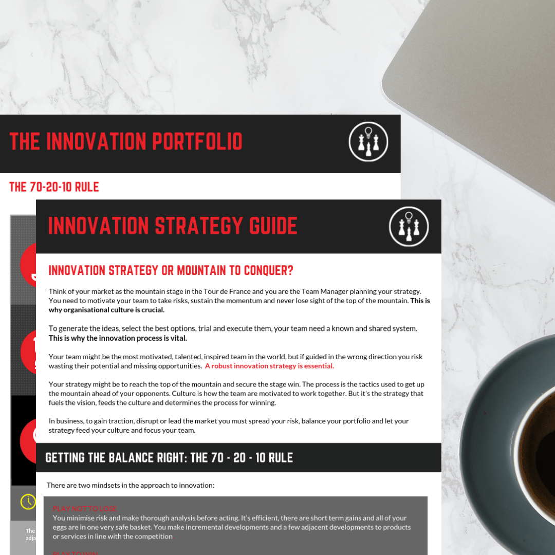 Click to download our quick guide to Innovation Strategy today!