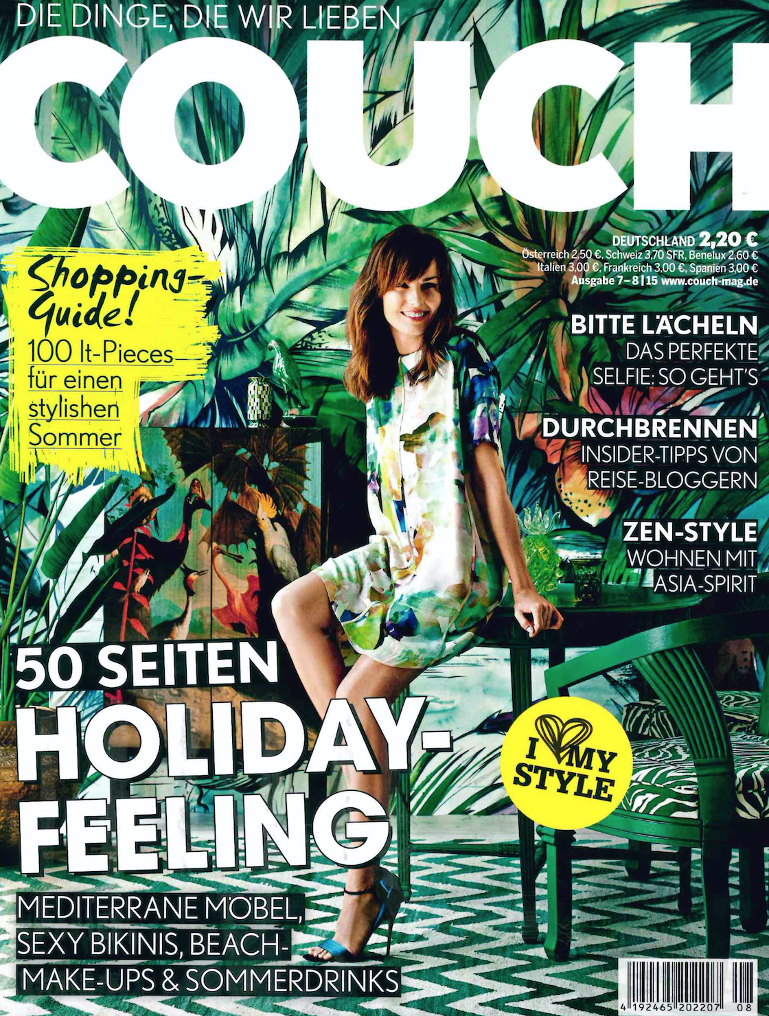 Couch magazine Cover