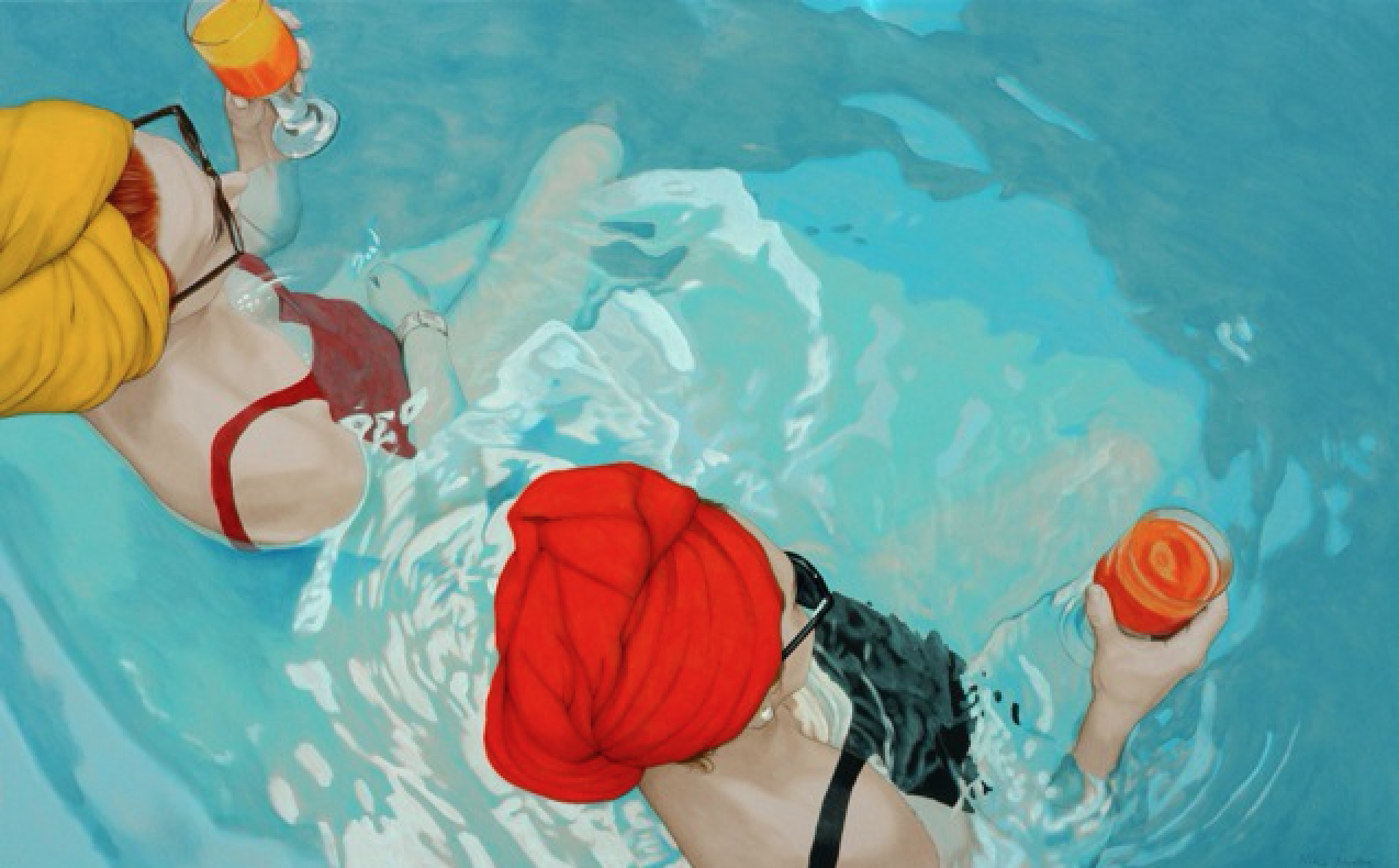 Nina Nolte, SOME OF THOSE DAYS, 2011, Limited Edition THE TIME IS NOW, Acrylic Art Print, 56 x 90 x 0,7 cm