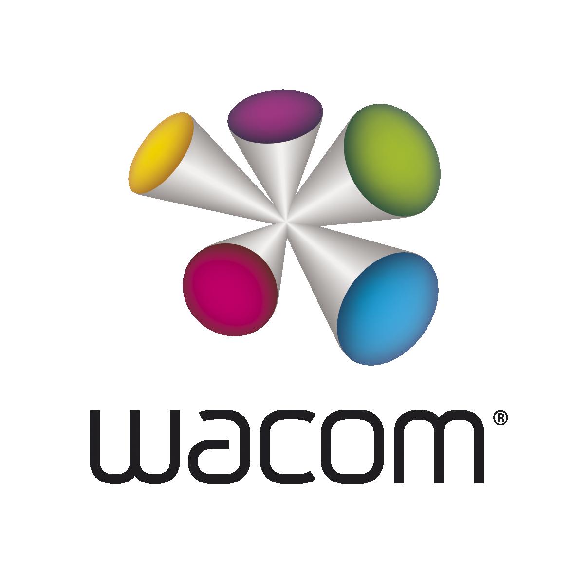 Image of Wacom logo.