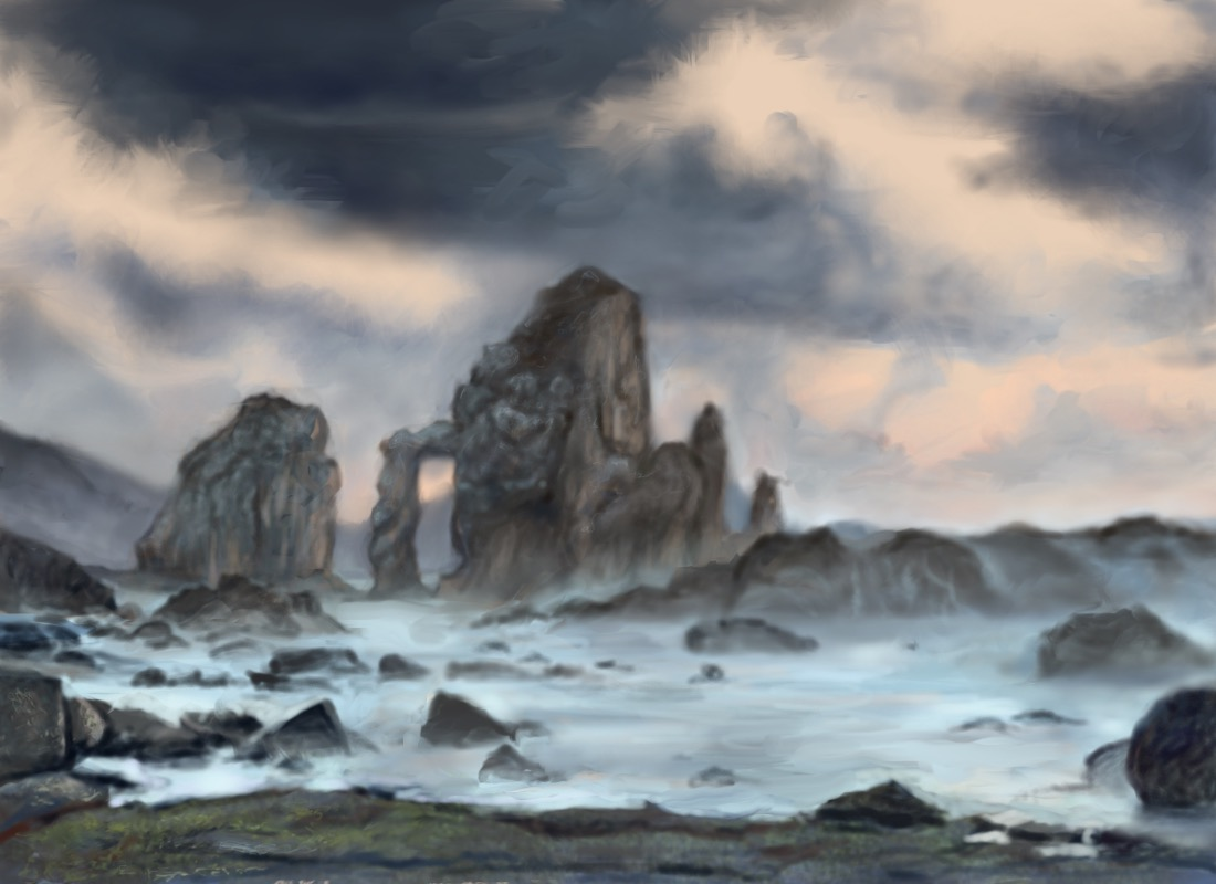 Image of a landscape painting.