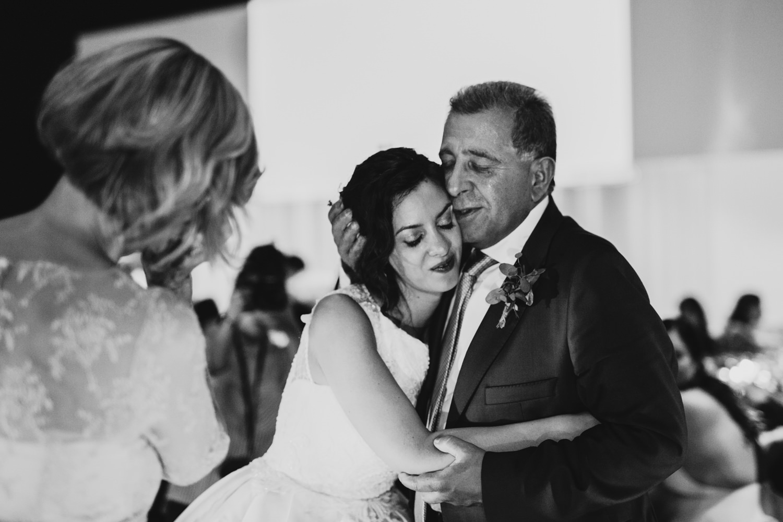 pai filha casamento fotografia