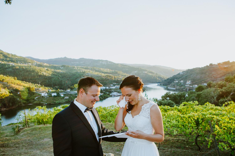 elopement douro portugal
