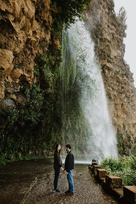 Estrada da Cachoeira na Ilha da Madeira