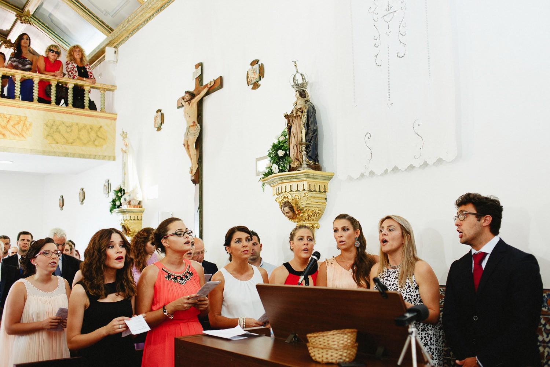 Coro em igreja braga