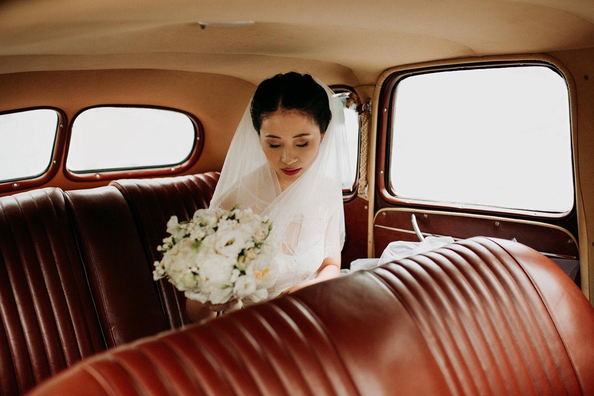 Chinese Wedding Ceremony  in Portugal Venue: Pousada de Amares P